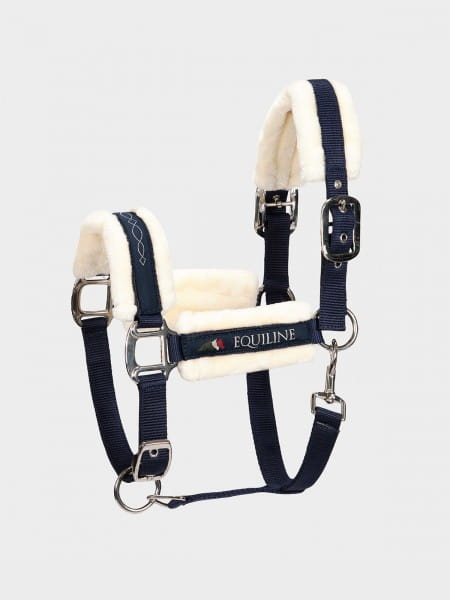 Equiline Halfter mit Lamfell TOM