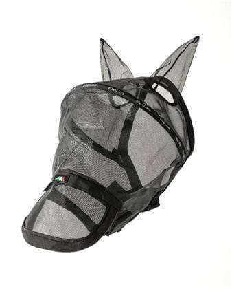 Paddock Meshfliegenmaske schwarz