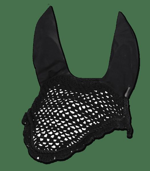 Waldhausen Fliegenohren mit elastischen Ohren Schwarz