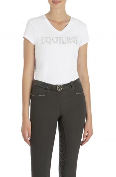 Equiline Damen T-Shirt V-Neck GENESISG