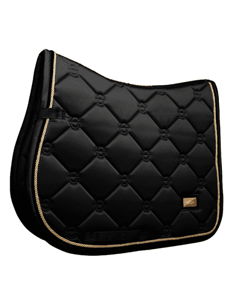ES Jump Saddle Pad Black Gold