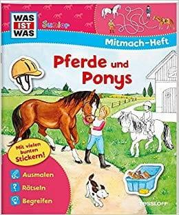 WAS IST WAS: Junior Mitmach-Heft Pferde- und Ponys