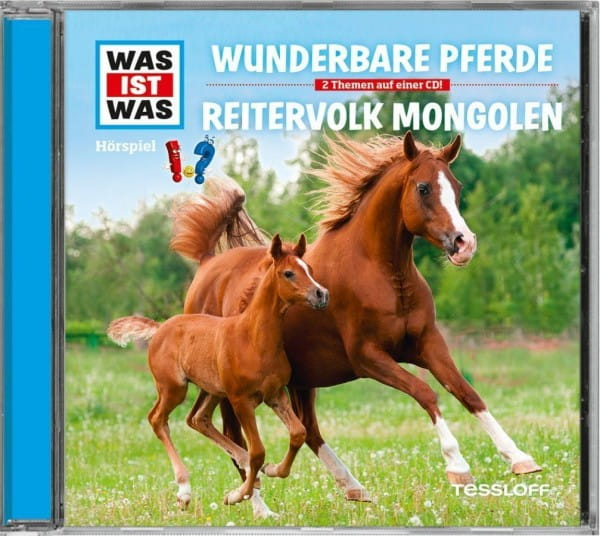 Folge 56: Wunderbare Pferde/Reitervolk Mongolen, bei Ambery