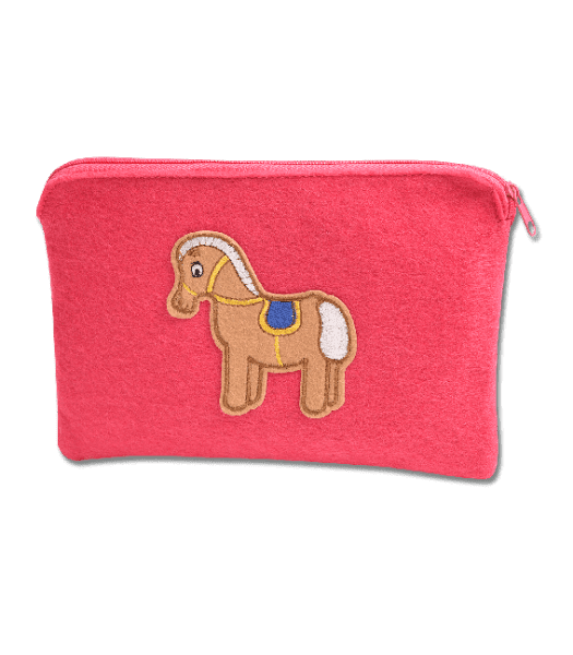 Waldhausen Pferde Allzwecktäschchen pink