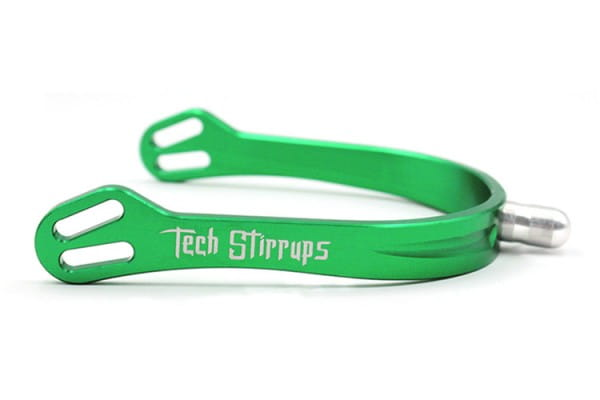 Tech Stirrups Sporen grün