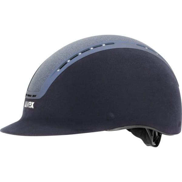 uvex suxxeed glamour blau Reithelm
