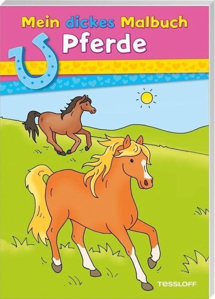 Mein dickes Malbuch. Pferde, bei Ambery